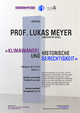 Public lecture by Lukas Meyer, Universität Graz