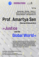 Public lecture by Amartya Sen, Harvard University
