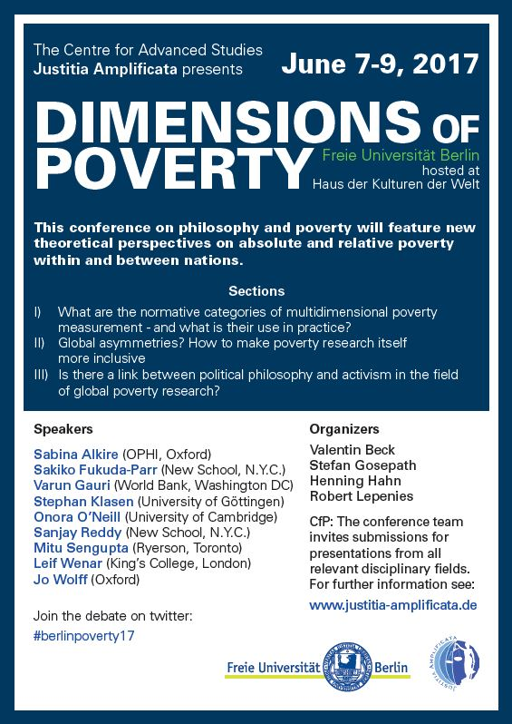 "Call For Papers: ""Dimensions of Poverty"""