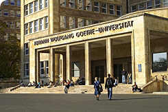Location: Goethe Universität, Frankfurt am Main
