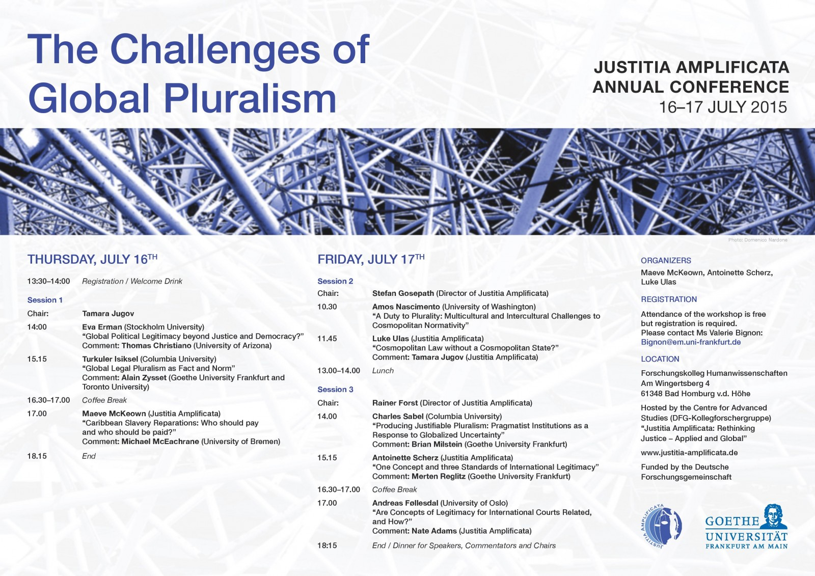 """The Challenges of Global Pluralism"""